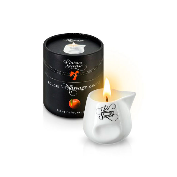 Свеча с массажным маслом «Massage candle peach»