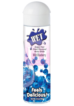 Любрикант «WET Wild Blueberry»