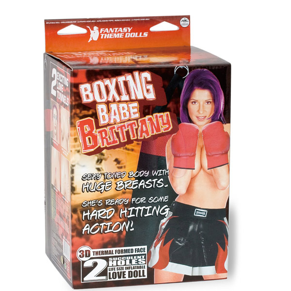 Реалистичная секс кукла «Boxing Babe Brittany»