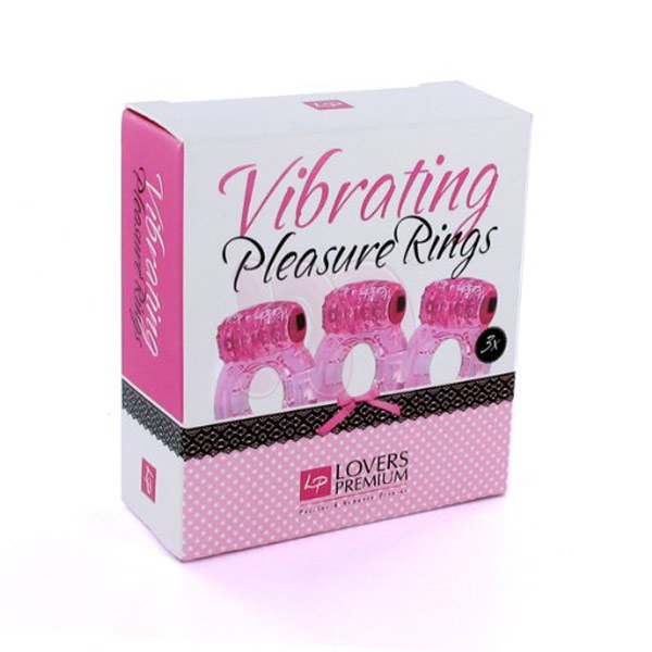 Набор колец «Pleasure Rings»