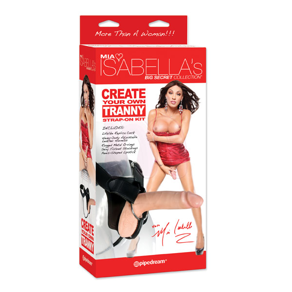 Страпон «Mia Isabella Collection Create Your Own Tranny»