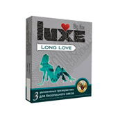 Презерватив «Luxe Long love» 3 шт
