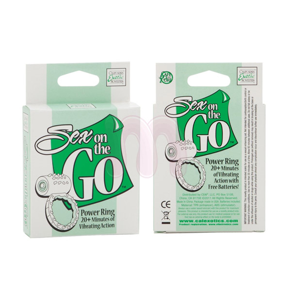 Виброкольцо «Sex on the GO Power Ring»