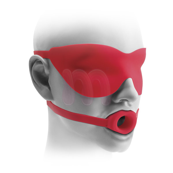 ����-����������� �Large Open-Mouth Gag & Mask�