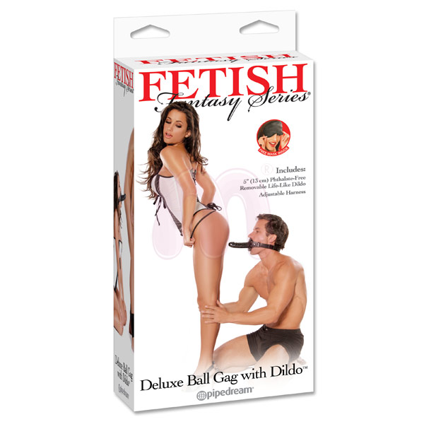 ������ �� ���� �Deluxe Ball Gag w Dong�