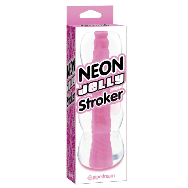 ����������� �Neon Jelly Stroker Pink�