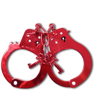 Наручники «Anodized Cuffs red»