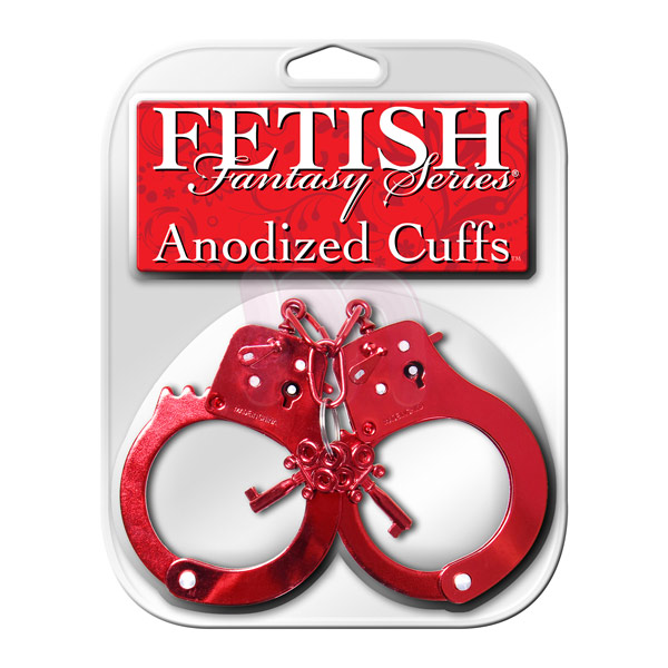 ��������� �Anodized Cuffs red�