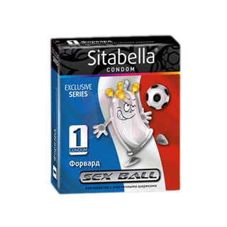 Презерватив «Sitabella Sex ball Форвард»