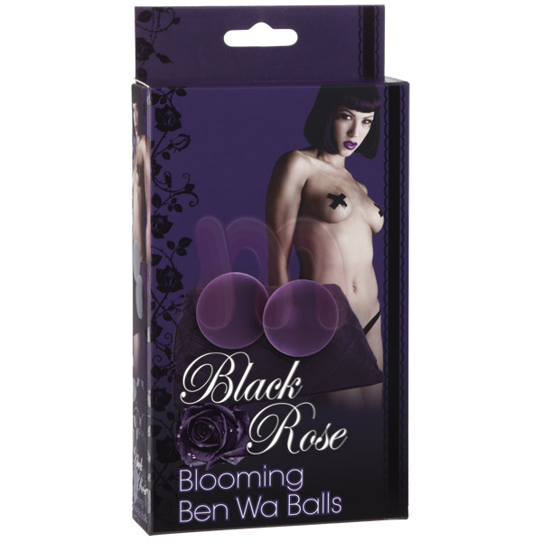 Шарики «Black rose ben wa purple»