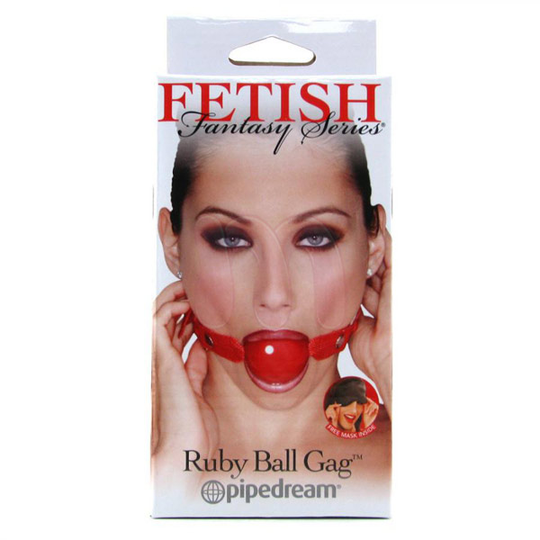 Кляп «Ruby ball gag»