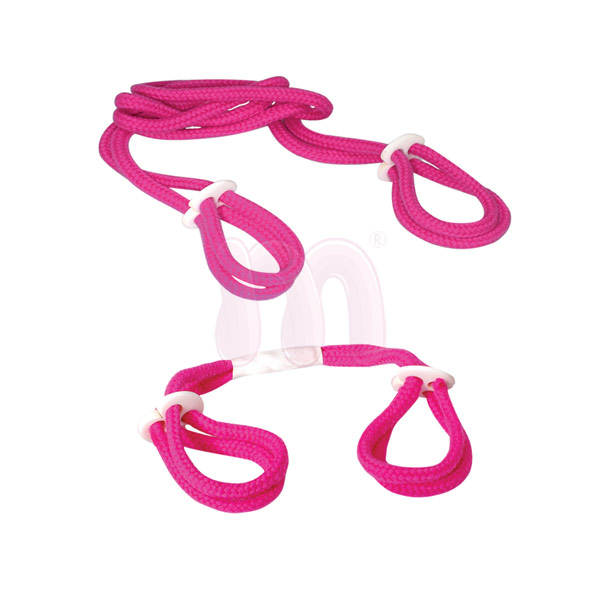 Набор Light Pink Rope Cuff Set