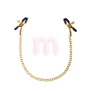 Зажимы «Ff gold nipple chain clamps»