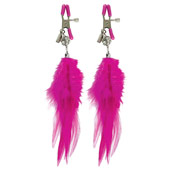 ������ ��� ������ �Ff fancy feather nipple clamps�