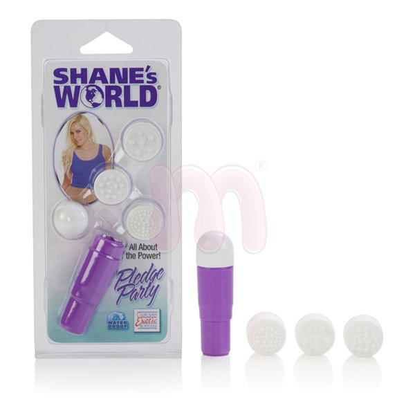 Вибромассажер «Shanes world Pledge party Massagers»