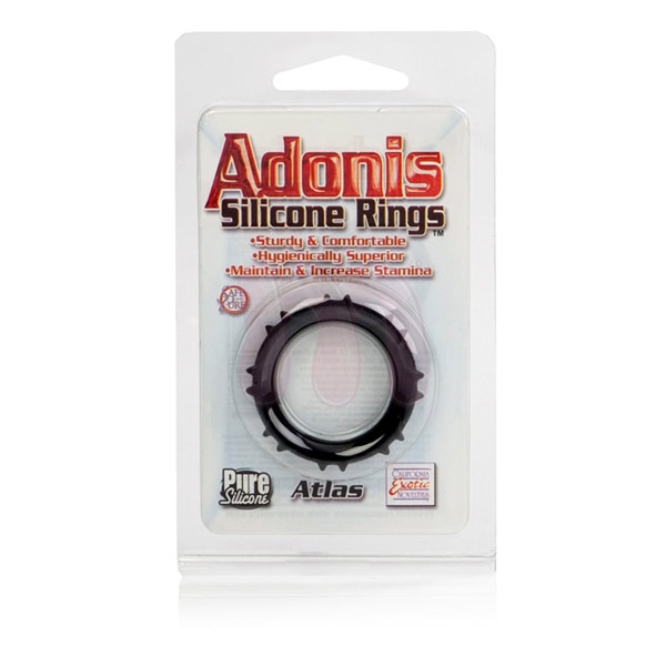 ����������� ������ �Adonis Silicone rings - atlas�
