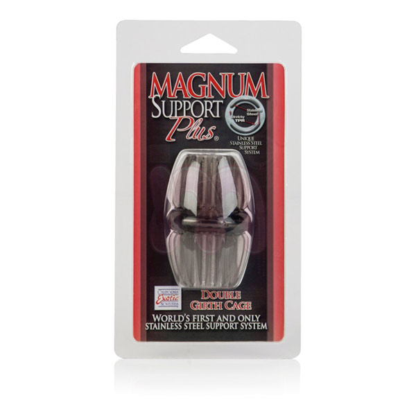 Насадка на член «Magnum support plus Double girth cages»