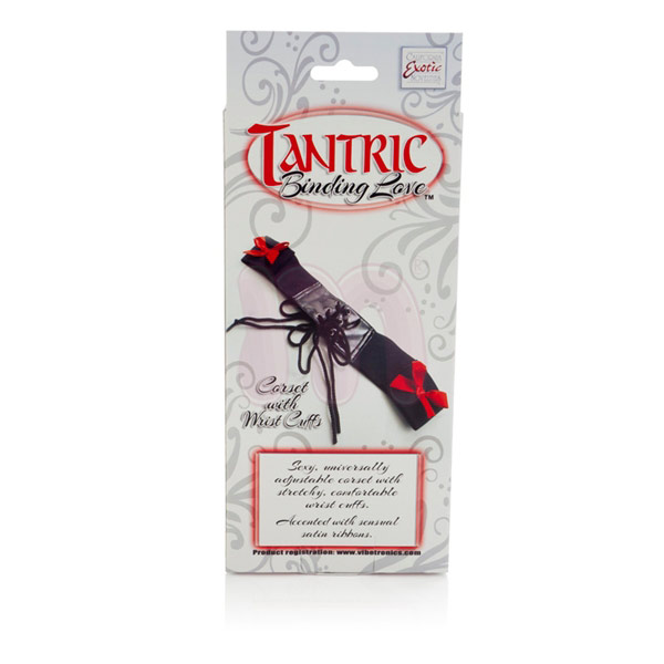 Корсет «Tantric binding love corset with wrist cuffs»