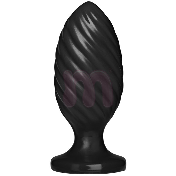Анальная пробка «Platinum premium silicone the swirl»