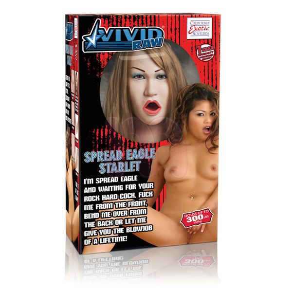 Кукла «Vivid raw spread eagle starlet»