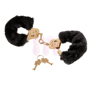 Наручники «Gold deluxe furry cuffs»