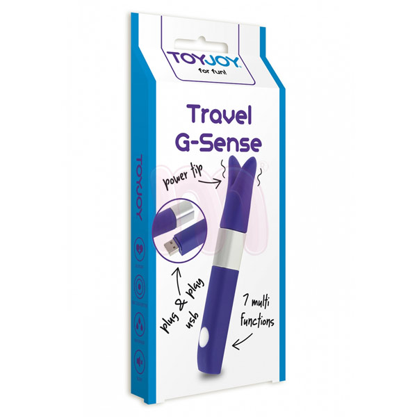Мини вибратор «Travel g-sense purple»