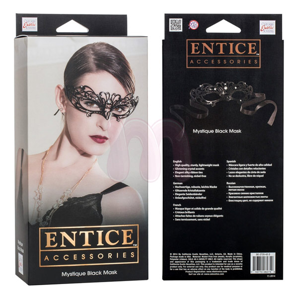 ����� �Entice mystique mask - black�