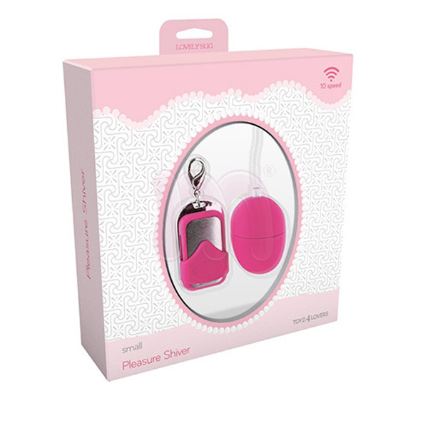 ������������� �Vibrating egg pleasure shiver small pink�