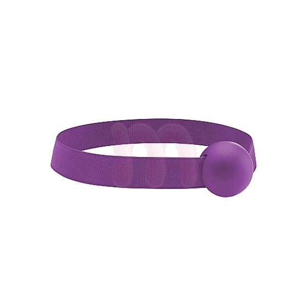 Кляп «Elastic ball ouch purple»
