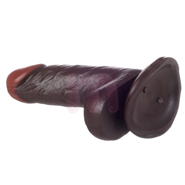 Фаллоимитатор «Realistic dildo real rapture brown 6»