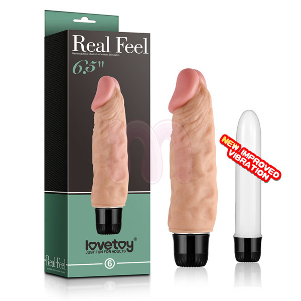 Вибратор «Lovetoy Real feel 65»