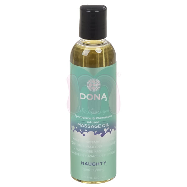 Массажное масло «Dona scented massage oil naughty aroma Sinful spring»