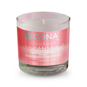 Массажная свеча «Dona scented massage candle flirty aroma Blushing berry»