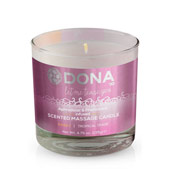 Массажная свеча «Dona scented massage candle sassy aroma Tropical tease»