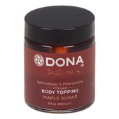 Карамель для тела «Dona body topping maple sugar»