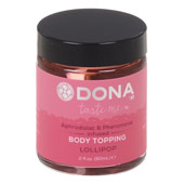 Карамель для тела «Dona body topping lollipop»