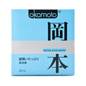 Презервативы «Okamoto skinless skin super lubricative» 3 шт