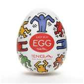 Мастурбатор «Tenga & keith haring egg Dance»