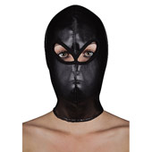Маска «Extreme leather hood with ribon ties»