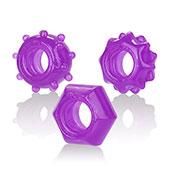 Набор колец «Reversible ring set-purple»