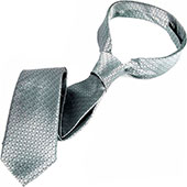 Серебристый галстук Кристиана Грея «Shades-of-grey silver tie»